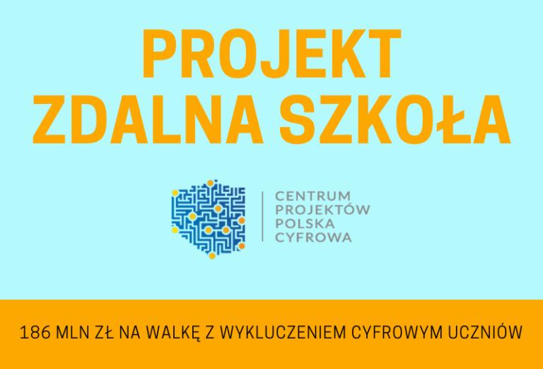 Zdalna Szkoła – wsparcie Ogólnopolskiej Sieci Edukacyjnej w systemie kształcenia zdalnego