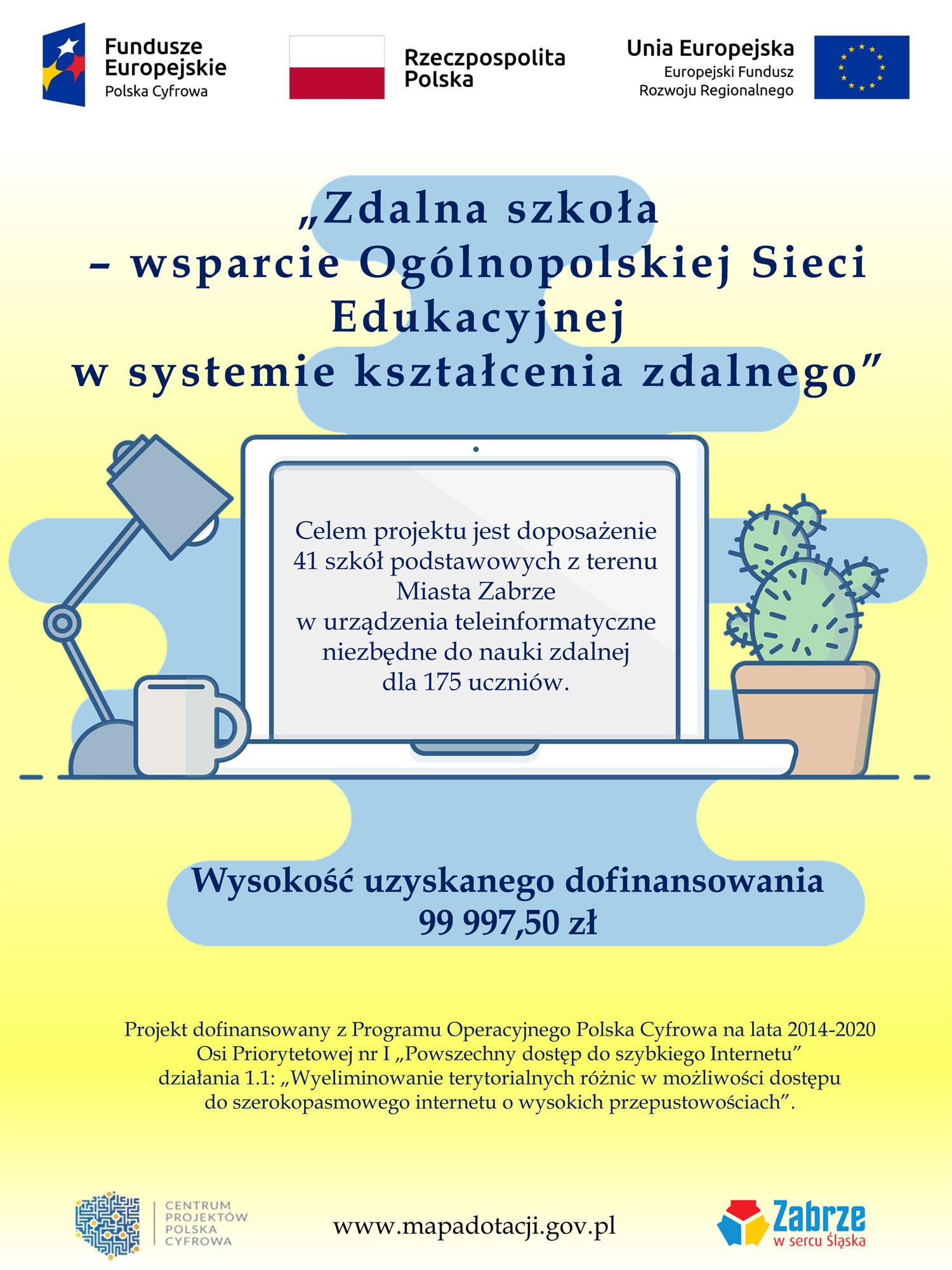 Zdalna szkoła - wsparcie Ogólnopolskiej Sieci Edukacyjnej w systemie kształcenia zdalnego